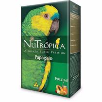 Ração Nutropica Papagaio Com Frutas 300gr