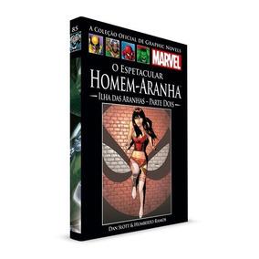Graphic Novels Salvat - Nº125 Homem-aranha Ilha Das Aranhas