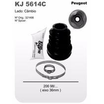 Kit Coifa Homocinética Peugeot 206 98/... Eixo 36mm Kj5614c