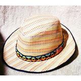 Sombrero Ala Corta De Rafia