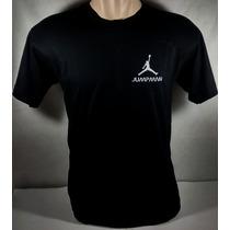 Camiseta Jordan Air Jumpman Basquete Nba Bulls Cavs Bordada