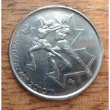 Moneda Canadá 25 Centavos Juegos Olimpicos ( N C )