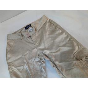 Pantalon Mujer Cargo Parece Seda Talle S Como Nuevo