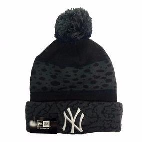 New York Yankees New Era Prints Black Beanie Gorro Lana Mlb