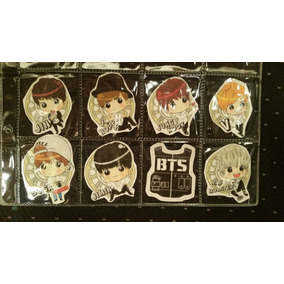 Bts - Kpop - Stickers Exclusivos - 6 Series Únicas En Mexico