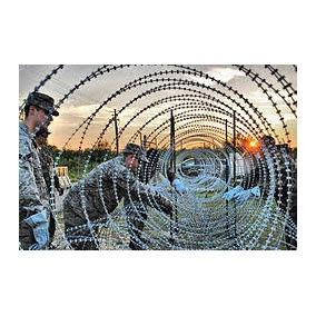 Concertina Militar Alta Seguridad 8m Navajas Púas