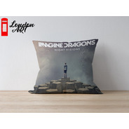 Almofada Decorativa Imagine Dragons 30x30 Premium
