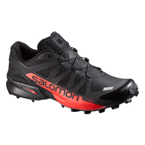 Tenis Salomon Trail Running Unisex Negro S-lab Speedcross