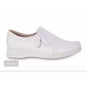 Zapatos Marca Dr. Sholls Piel Para Enfermera Medico 206-6189