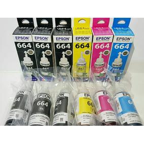 Kit 6 Tintas Epson Originais.l365 L395 L375 L395