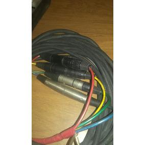Conectores Xrl, Medusa 4 Can.neutrik Usa Precio Metro