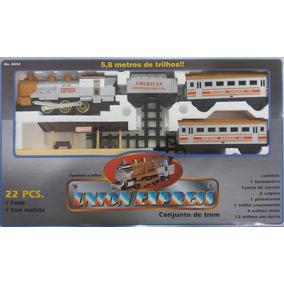 Trem Union Express 22 Peças Com Farol