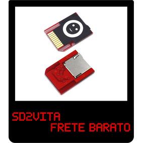 Sd2vita - Adaptador Micro Sd P/ Ps Vita Psvita -frete Barato