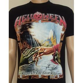 Remera Importada Heavy Metal Helloween Judas Priest Angra