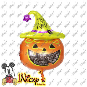 Globos De Calabaza Gr 81x50 Cm Halloween O Dia De Muertos