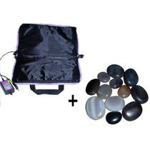 Kit Pedras Quentes+ Bolsa Aquecedora 110 Volts