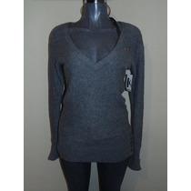 Sweaters Hollister Co. T-m Nuevo Largo Orig. Abrigos,chaleco