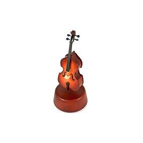 Prestigioso 18 Notas Violonchelo Clásico En Miniatura Con Ba
