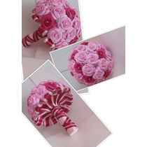 Bouque Para Noiva Mini Rosas De Eva