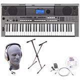 Teclado Yamaha Psre443 Portable Keyboard With Headphones,