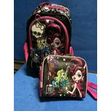 Kit De Mochila Da Monster High Original