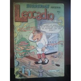 Burrerias Presenta Leocadio No.1 Editormex Año-1969