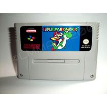 Super Mario World Em Portugues Salvando Super Nintendo Snes