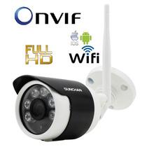 Camera Ip Full Hd Wifi 960p Onvif Externa Ircut 50m + Fonte