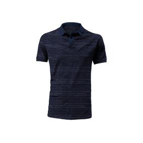 Camiseta Tipo Polo Rosé Pistol Para Hombre - Azul