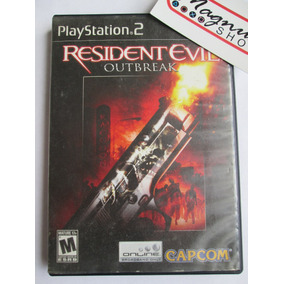 Resident Evil Outbreak Para Playstation 2 Ps2 Gran Juego Re