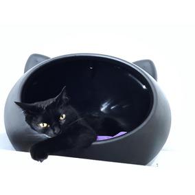 Cama/toca/casa Gatos Guisa Pet Cat Cave Pequena Preta - Pret