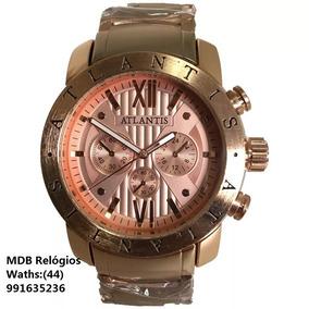 40dee25a945 Relogio Atlantis Estilo Bulgari - Relógios no Mercado Livre Brasil