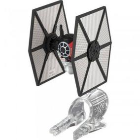 First Order Tie Fighter Nave Star Wars Hot Wheels Novo