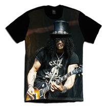 Camiseta Slash Banda Guns N