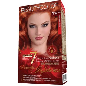 Color Beauty Color Kit 76.44 Ruivo Absoluto