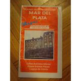 Plano De La Ciudad De Mar Del Plata Calles, Avenidas, Altura
