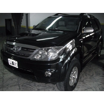 Toyota Hilux Sw4 2008 Cuero 3.0 Tdi 4x4!!!