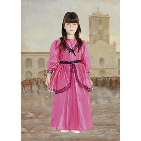 Disfraz Dama Antigua Fucsia Talle 2