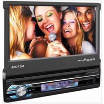 Dvd Retrátil 7 Phaser Ard7201 Usb Touchscreen Mp3