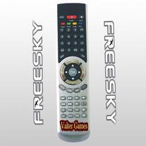 Controle Remoto Freesky Freeduo+ Hd Plus Pronta Entrega