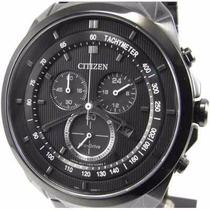Relógio Citizen Eco-drive Carbono At2155-58e + Frete