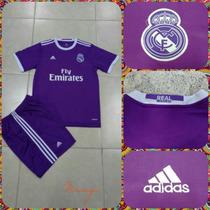 Oferta Conjunto De Real Madrid Morado