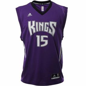 Jersey Nba Sacramento Kings 15 Cousins Hombre adidas A47365