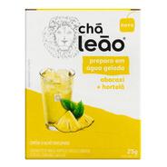 Chá Leão Água Gelada Abacaxi E Hortelã 10 Sachês