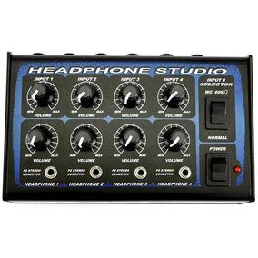 Power Click Mixer 4x4 Estúdio Portátil Com 4 Entradas Para 4