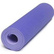 Colchoneta Mat Ecologica Yoga Pilates Fitness Tpe + Algodon