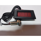 Tacometro Digital Para Panel Con Sensor Hall 5-9999 Rpm