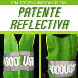 Chalecos Con Patente Reflectiva Para Moto En 24hs