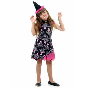 Fantasia Infantil Bruxa Vampira