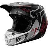 Casco Fox Mx18 V1 Rodka Se Gris Talla S Motocross